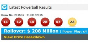 US Powerball Results