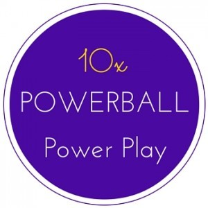 The US Powerball Power Play Multiplier can multiply prizes up to ten times