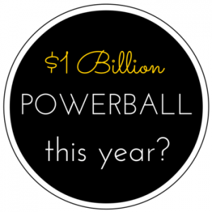 Will the Powerball jackpot reach $1 billion this year?