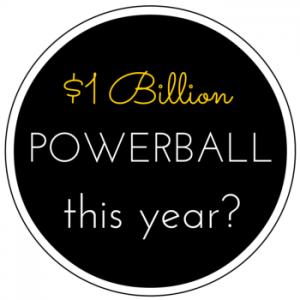 Will the Powerball jackpot reach $1 billion this year?