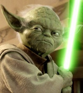 Would the force be able to help Yoda win Powerball online?