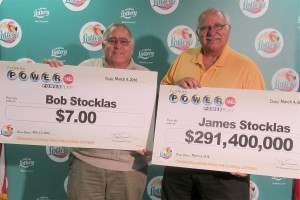 Stocklas brothers successful in US Powerball lottery - one wins Powerball jackpot