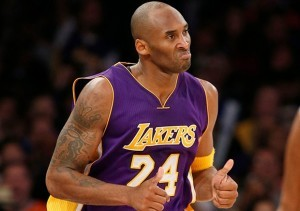 Celebrate Kobe's last home game with a jackpot win and prevent the Powerball Rollover Run to continue