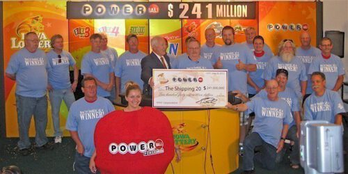 The Shipping 20 Powerball Syndicate is one of the biggest Powerball syndicate winners. They won $241 million in June 2012!