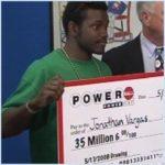 Jay Vargas Powerball winner