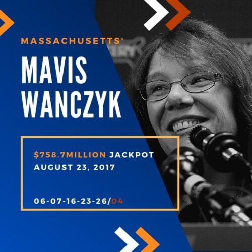 Mavis Wanczyk - $758.7 Million - 2017