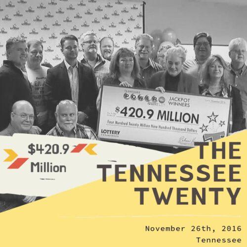 The Tennessee Twenty - $420 Million