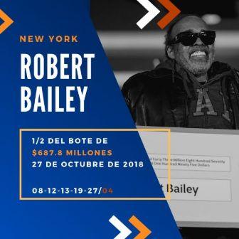 mayores ganadores del Powerball - Robert Bailey
