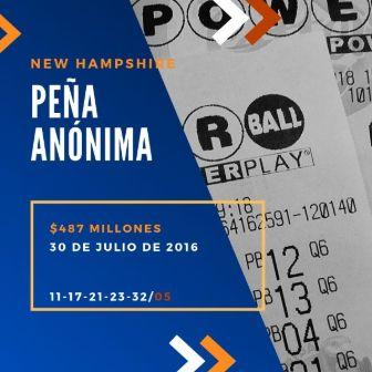 mayores ganadores del Powerball - pena anonima