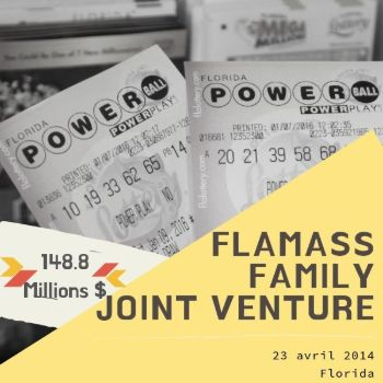 Le groupe FlaMass Family Joint Venture – Powerball - 148,8 millions $