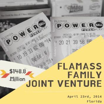 FlaMass Family Joint Venture - Powerball - $148.8 Million