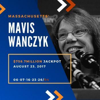 Mavis Wanczyk - Powerball - $758.7 Million