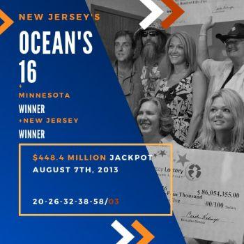 Ocean's 16 - Powerball - $448.4 Million