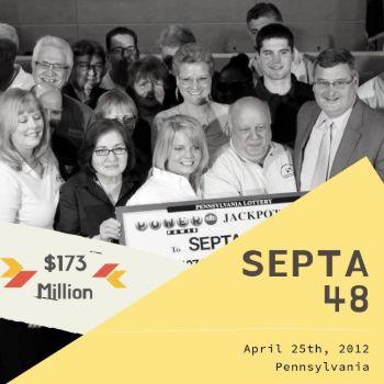 SEPTA 48 - Powerball - $173 Million