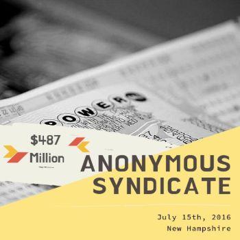 Anonymous Family Syndicate – Powerball -$487 Million
