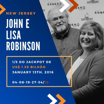 John e a Lisa Robinson - 1/3 do US$ 1,6 bilhão
