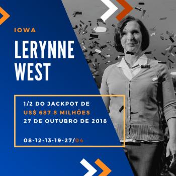 Lerynne West - 1/2 do US$ 687,8 milhões