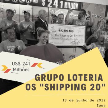 Grupo Loteria Shipping 20 – US$ 241 milhões