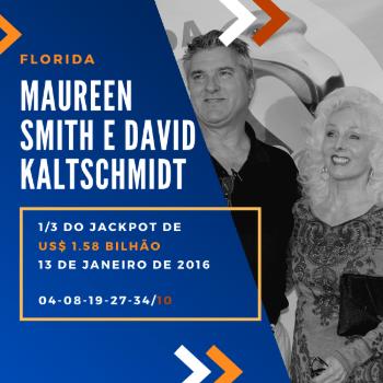Maureen Smith e David Kaltschmidt - 1/3 do US$ 1,6 bilhão