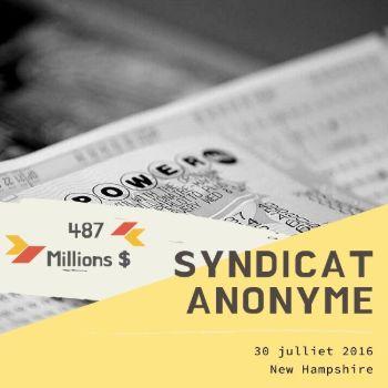 Groupe de joueurs anonyme - 487 millions $